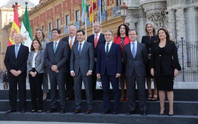 EL NUEVO CONSEJO DE GOBIERNO DE LA JUNTA DE ANDALUCÍA TOMA POSESIÓN DE SUS CARGOS