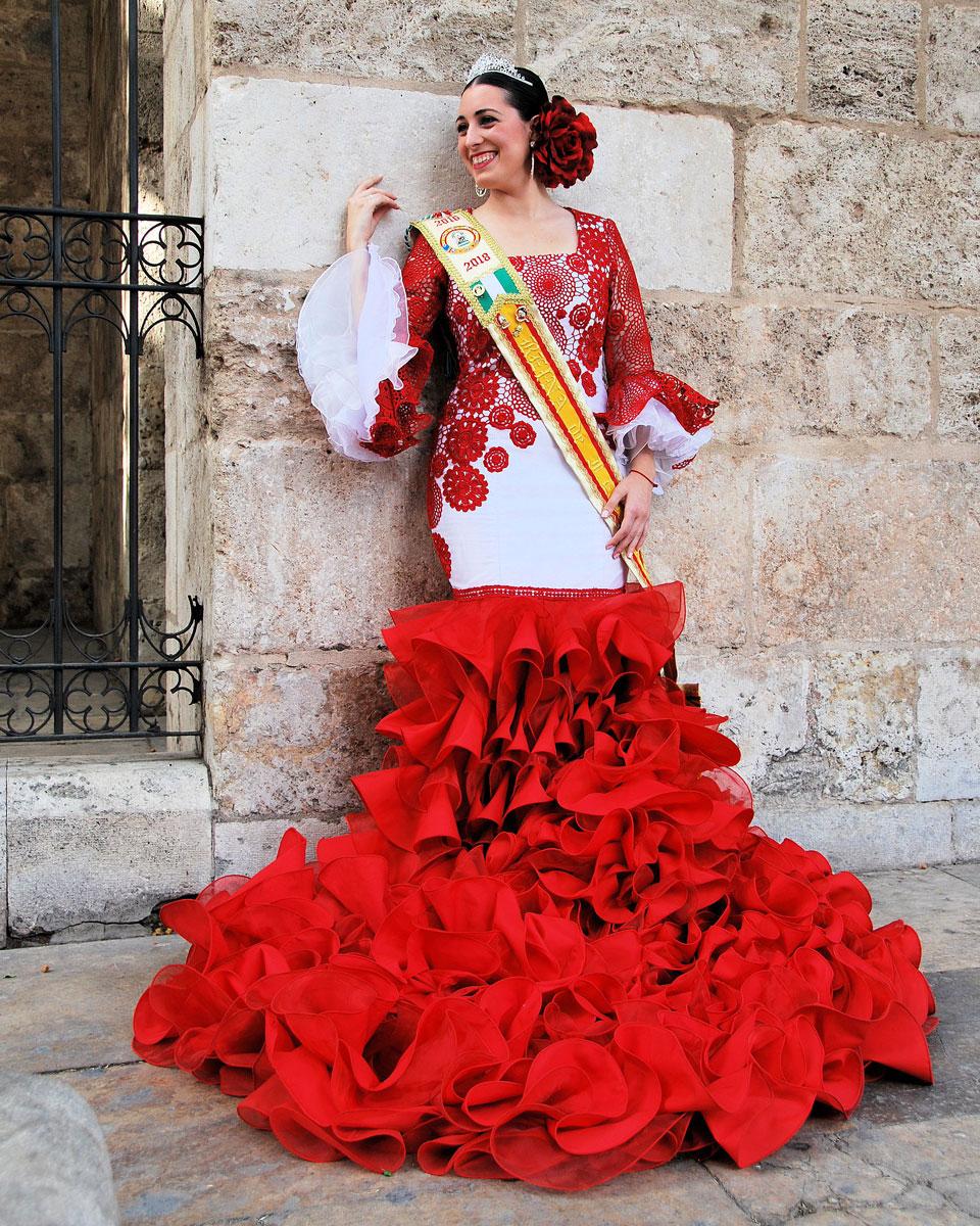 Verónica Catalá Llamas. Procedente de la Asociación Cultural Andaluza de Valencia.