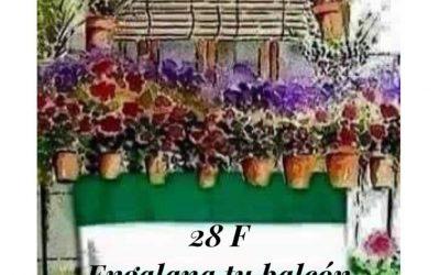 ENGALANA TU BALCÓN ESTE 28F