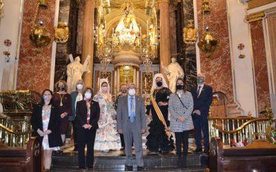 FECACV CELEBRA EN LA BASILICA DE VALENCIA UNA MISA A LOS AFECTADOS POR EL COVID